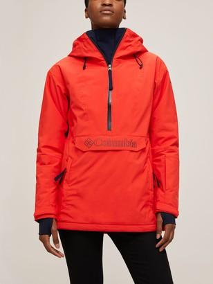Columbia Dust on Crust Women's Waterproof Ski Jacket, Bold Orange