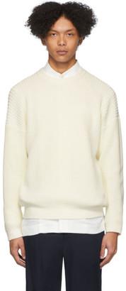 Issey Miyake White Low Gauge Sweater