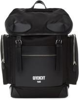 Givenchy Black Logo Ryder Backpack