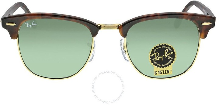 Ray-Ban Clubmaster Tortoise Arista 51mm Sunglasses