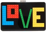 Les Petits Joueurs Andy Rainbow Love Clutch