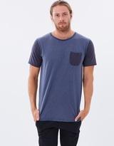 Quiksilver Mens Scribble Pocket T Shirt
