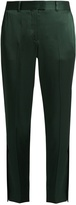 Christopher Kane Straight-leg satin trousers