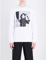 Raf Simons Patti Smith cotton sweatshirt