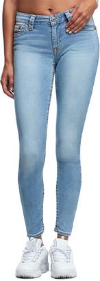 True Religion Jennie Stoned Wash Curvy Skinny Leg