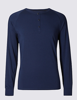 David Gandy For Autograph Supima® Long Sleeve Pyjama Top