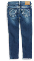 True Religion Casey Skinny Jean (Toddler Girls & Little Girls)