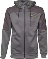 Lyle And Scott Vintage Mens Elliot Hooded Track Jacket Slate