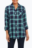 Foxcroft Plaid Relaxed Shirt