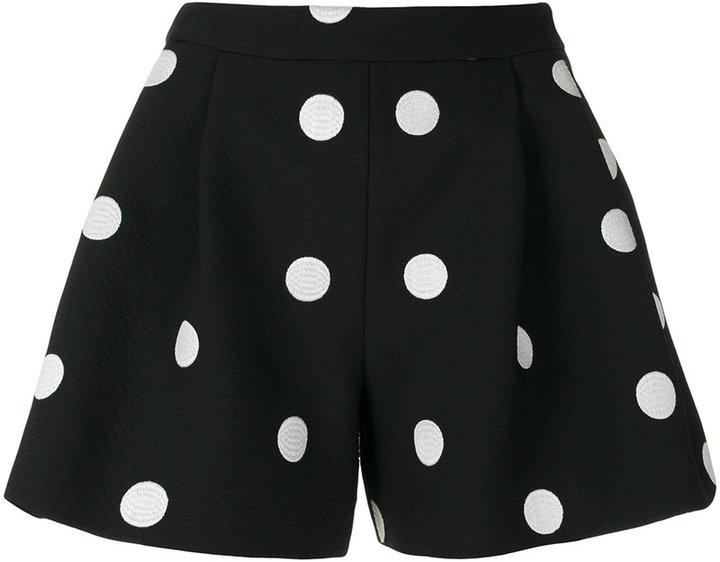 Moschino polka dot shorts