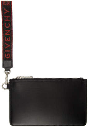 Givenchy Black Zip Pouch