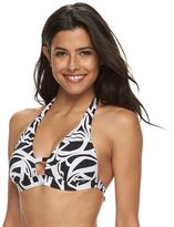 Apt. 9 Women's Abstract Push-Up Halter Bikini Top
