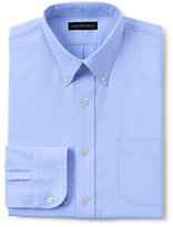 Classic Men's Big Long Sleeve Buttondown Pattern Oxford Shirt-Rich Red