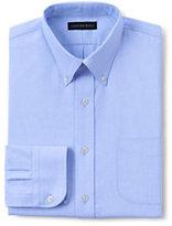 Classic Men's Tall Long Sleeve Buttondown Oxford Shirt-Rich Red