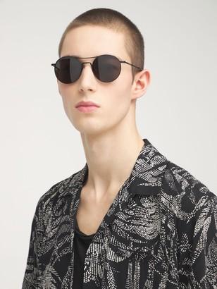 Saint Laurent Sl 421 Round Metal Sunglasses
