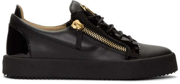 Giuseppe Zanotti Black May London Frankie Sneakers