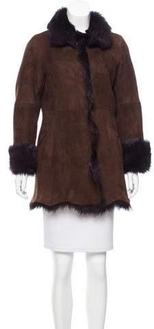Andrew Marc Short Shearling Coat