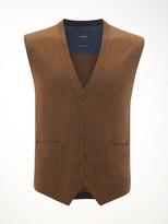 White Stuff Rainer knitted merino waistcoat
