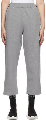 MM6 MAISON MARGIELA Grey Cropped Lounge Pants