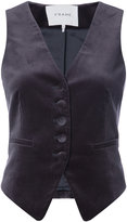 Frame tailored fitted waistcoat