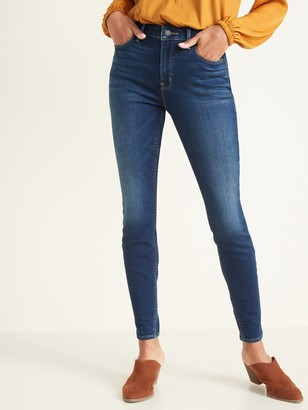 Old Navy High-Waisted Built-In Warm Rockstar Super Skinny Jeans for Women