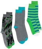Diesel three pack striped socks