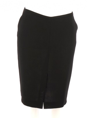 Christian Lacroix Black Wool Skirt for Women