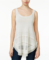Rachel Roy Contrast Sweater Tank Top, Only at Macy's