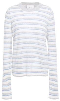 3.1 Phillip Lim Striped Cashmere-blend Sweater