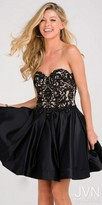 JVN by Jovani Sweetheart Corset Back Homecoming Dress