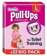 Huggies Large Pull-Ups Girl Economy 22 per pack - Pack of 2
