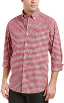 Bills Khakis Standard Issue Brooklawn Classic Fit Woven Shirt