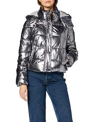 Only Women's ONLJANE MET. Quilted Jacket OTW,8 (Size: XS)