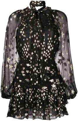 LoveShackFancy Black Silk Dresses