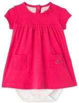 Petit Bateau Baby girls bodysuit dress