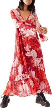 Free People Moroccan Printed Maxi Dress