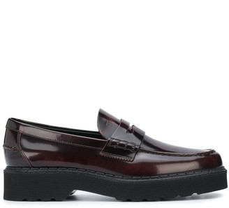 Tod's Chunky Sole Loafers