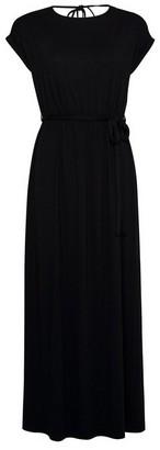 Dorothy Perkins Womens Dp Petite Black Jersey Maxi Dress, Black