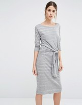 Whistles Louise Tie Front Dress