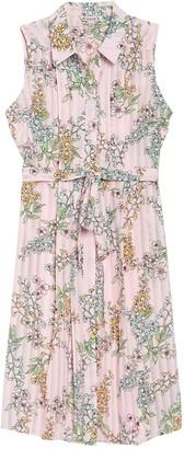 Nanette Nanette Lepore Floral Sleeveless Shirt Dress