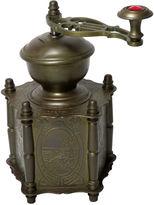 One Kings Lane Vintage Antique Heavy Brass Coffee Grinder