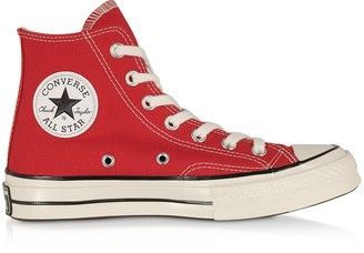 Red Chuck 70 w/ Vintage Canvas High Top