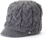 adidas Women's Crystal Cable-Knit Beanie