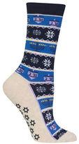 Hot Sox Hanukkah Striped Socks