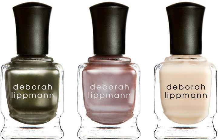 Deborah Lippmann Fashionista Nail Lacquer Gift Set Trio