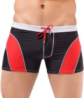 Rocky Sun Mens Breathable Swimsuit Short Trunk Swimming Boxers Size L