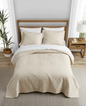 Tommy Bahama Home Tommy Bahama Solid Dune Quilt Set, King