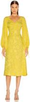 STAUD Sofia Dress in Buttercup | FWRD