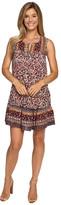 Lucky Brand Scarf Printed Dress