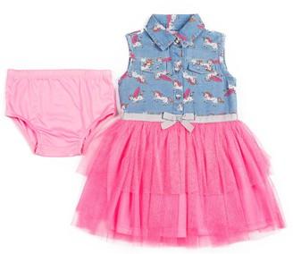 Little Lass Baby-Girls Toddler 1 Piece Bubble Creeper Dress Size 24M 18M